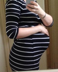 32 weeks bump!